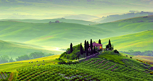 Tuscany is one of the most beautiful place in Italy with its famous hills and landscape, art cities to visit like Florence, Siena, San Gimignano, Montepulciano, the Chianti Shire and the Italian wine and food